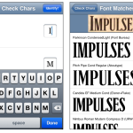 WhatTheFont [iPhone, WebApp]