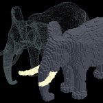 Q-Block // 3D Pixel Game Engine [WebApp, Flash, Games]