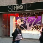 HBO Shop Interactive Snow Window [openFrameworks]