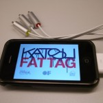 Fat Tag Deluxe Meet Projector [iPhone, openFrameworks]