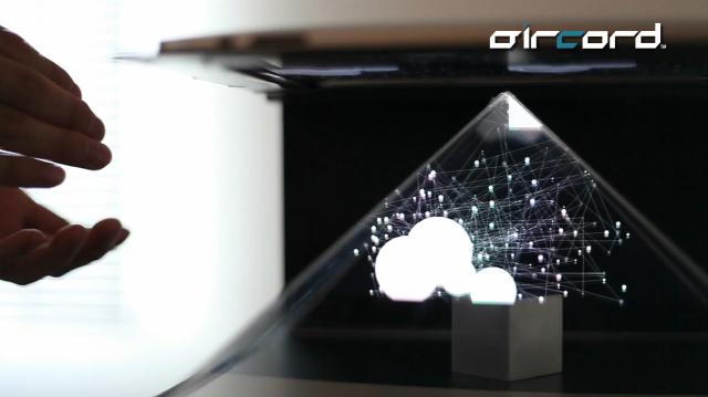 AirCord Holographic iPad
