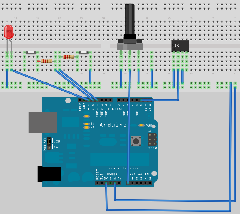 Wireless arduino of tutorial by joshua noble aka
