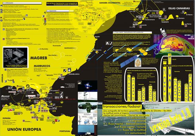 Hackitectura / Cartografía crítica del Estrecho de Gibraltar