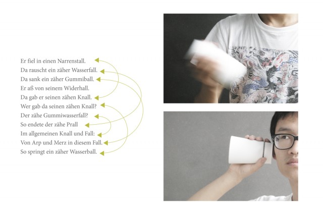 Dada box allows a person to generate stories by a simple for Frank zebner