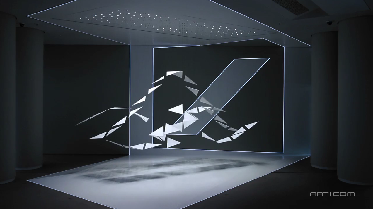 New Kinetic Installation By Art Com For Deutsche Bank