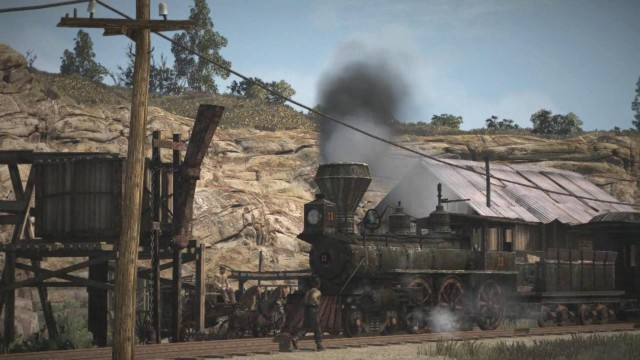 Red Dead Redemption - train