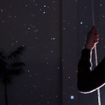 'Starfield' by Lab212 – Interactive galaxy, the swing and Kinect
