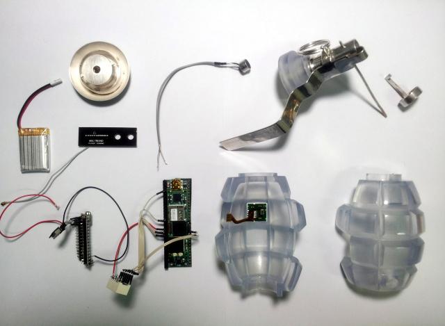 The Transparency Grenade –Julian Oliver