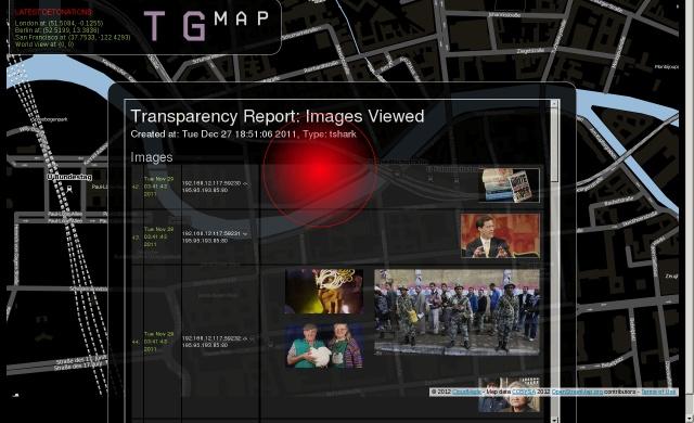 The Transparency Grenade –  Julian Oliver