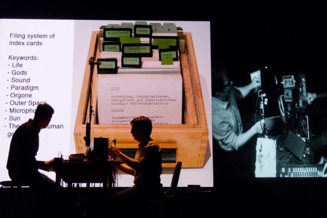 Andrew Pekler & Jan Jelinek play Ursula Bogner, MUTEK 2012