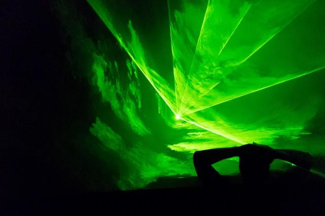 Robin Fox's Laser Show, MUTEK 2012