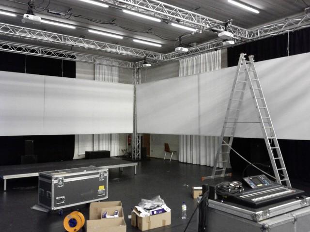CineChamber setup, Club Transmediale 2011