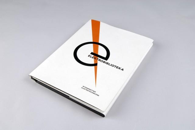 Electrolibrary by waldek węgrzyn paper book as interface