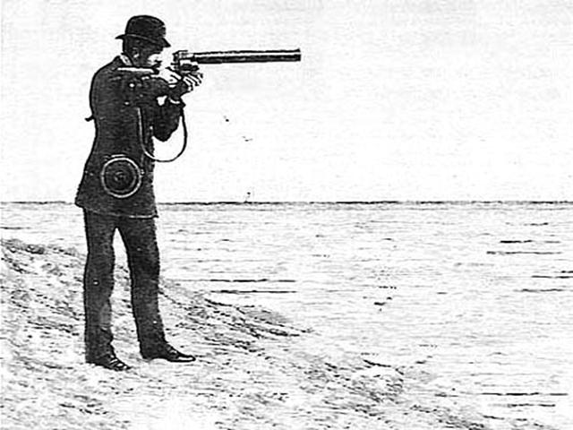 Étienne-Jules Marey –Chronophotographic Gun