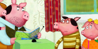 The Three Little Pigs and Cinderella – Interactive storytelling by Nosy Crow