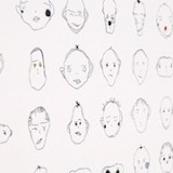 Weird Faces Study by Matthias Dörfelt using PaperJS