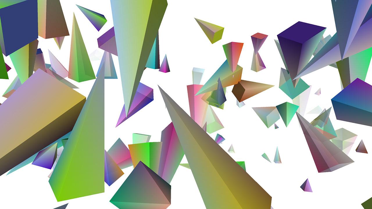 3d Geometric Shapes Patterns Custom 3d geometry