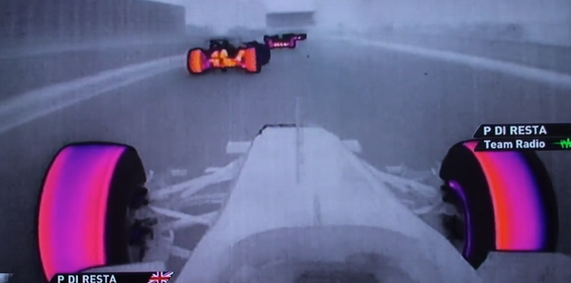 Thermal imaging casts formula crash in very different light
