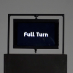 'Full Turn' draws third dimension using a flat screen rotating at high speed