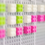 Lego Calendar by Vitamins Design syncs with Google Calendar