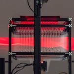Mirage – An optical projection apparatus by Ralf Baecker / LEAP