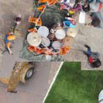 Playground NDSM – Interactive photomontage of 7 years at NDSM-warf / Amsterdam