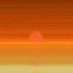 Infinite Sunset – A digital replacement for the act of watching the sun set