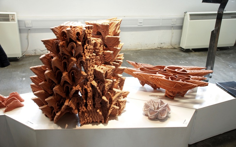 The Bartlett BPro Show 2014 - GAD/RC4 //  Team Clayware: Wei Liu, Zuan Huang & Wenzhao Gao