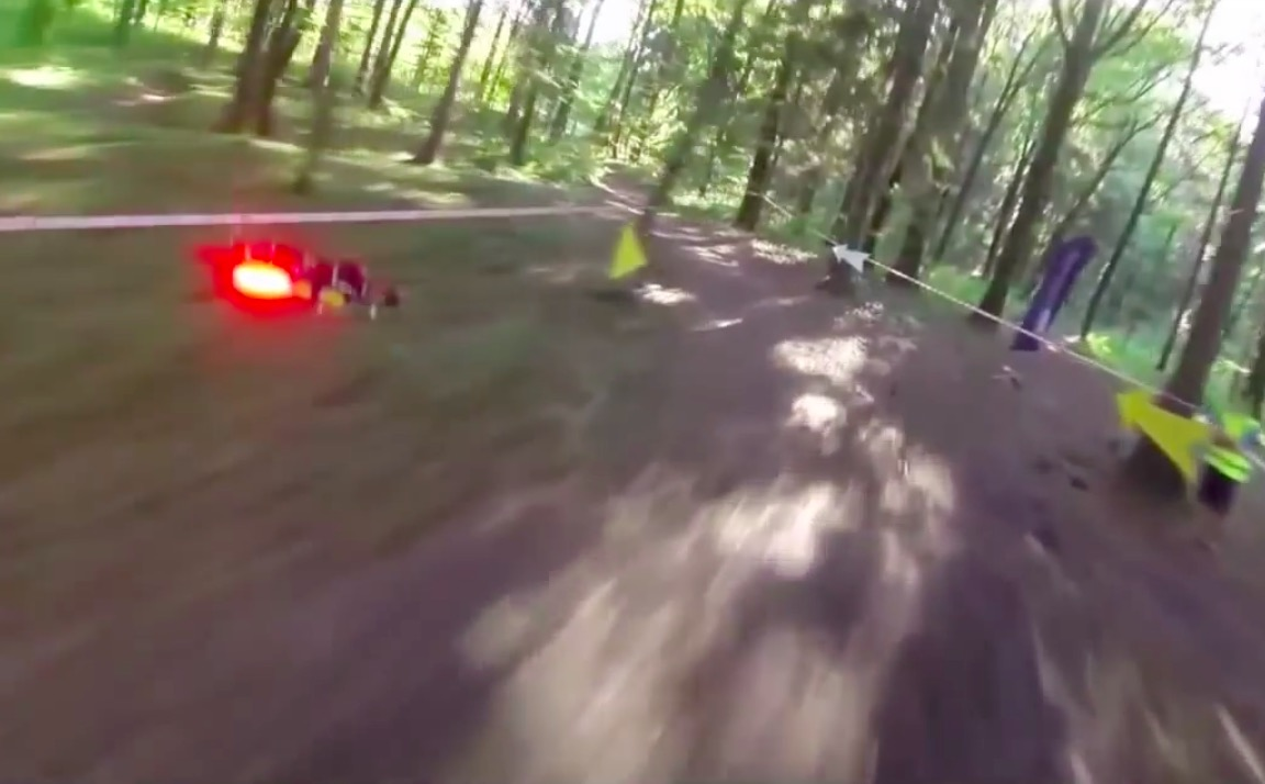 Drone Racing Star Wars Style