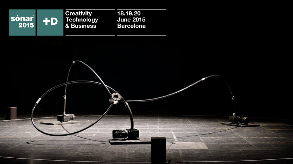 Sónar+D – International conference for creativity and technology / 18-20 June 2015 Barcelona