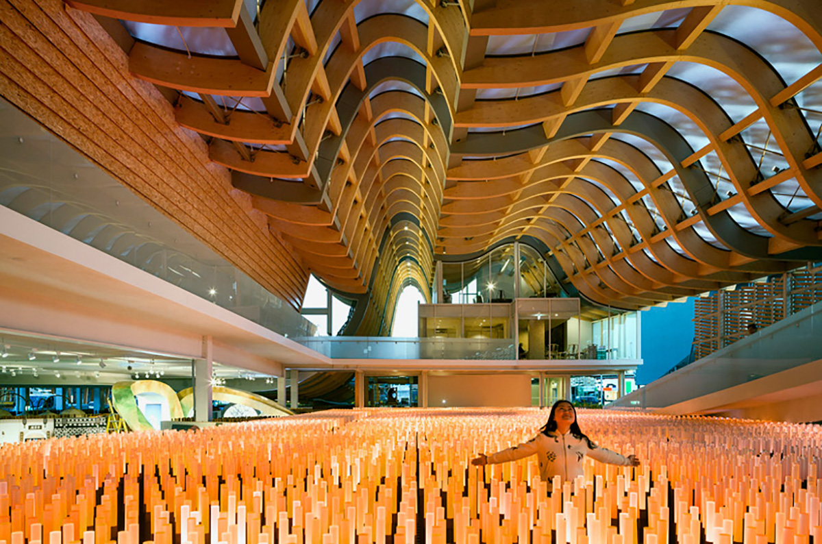 The Field Of Hope 2015 Milan Expo China Pavilion
