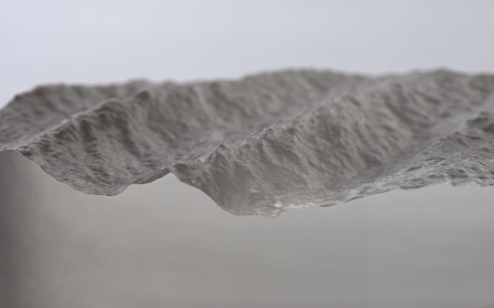 Longitude and latitude – David Bowen's CNC routed sculptures capture the waves