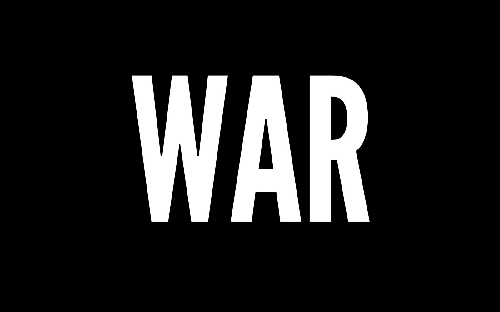 War or Peace – New 'wall-clock poem' by Zach Gage