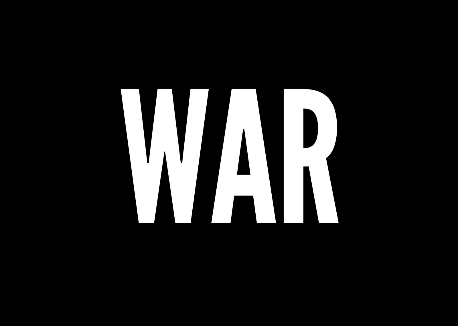 war or piece