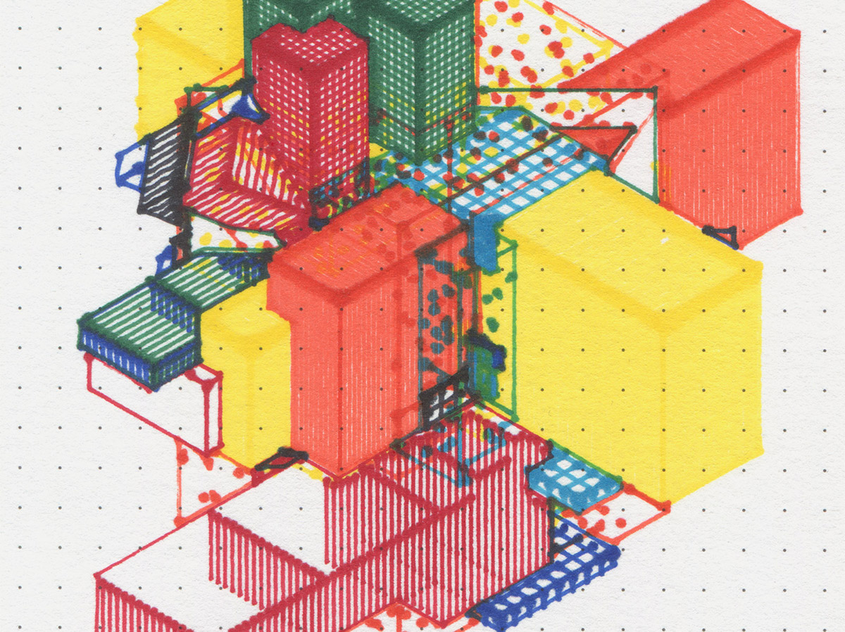 Possible, Plausible, Potential – Drawings of architecture generated by code