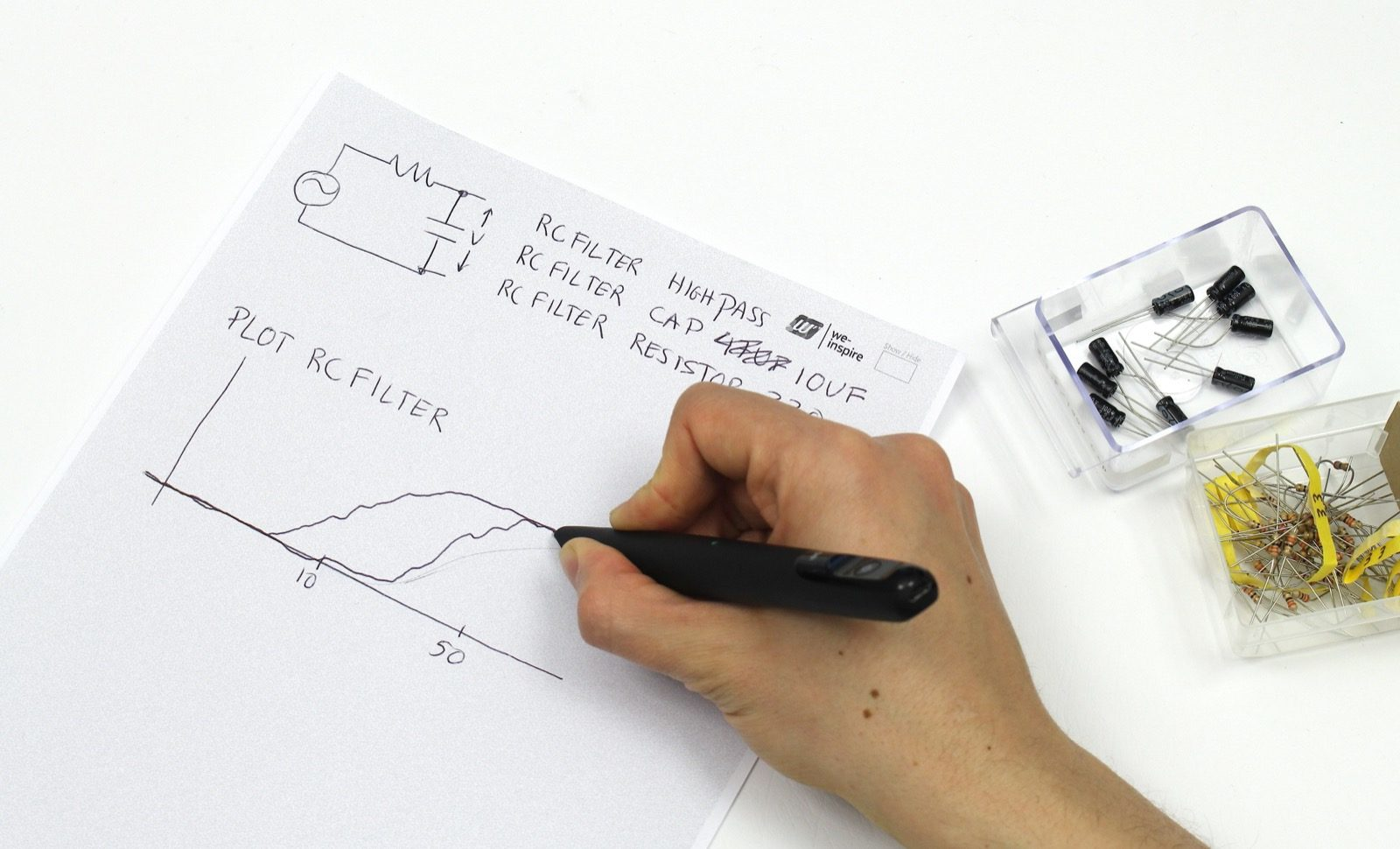 Muscle Plotter – Assistive interface for hand-drawn computation