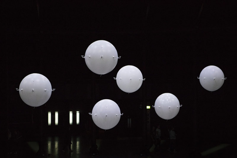 Zoological – Autonomous flying spheres at the Roundhouse