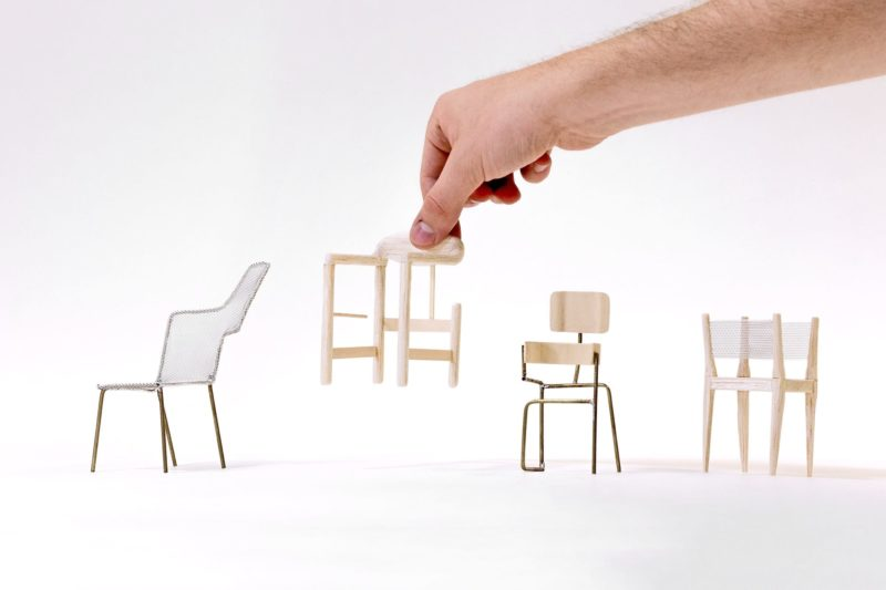 The chAIr Project – Reversing the roles of human and machine in the design process