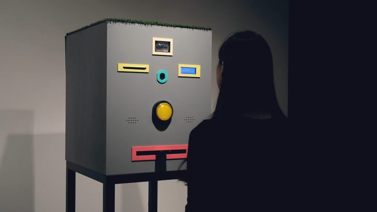 "Face Trade – Art vending machine that trades mugshots for ""free"" portraits"