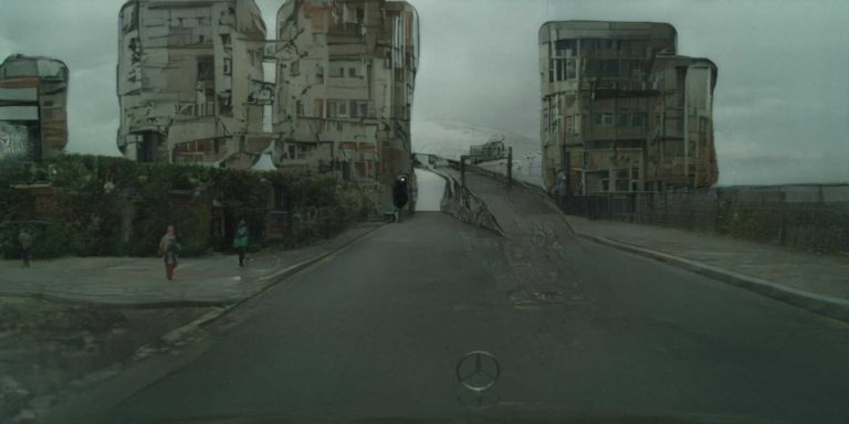 Uncanny Rd. – Drawing tool to interactively synthesise street images
