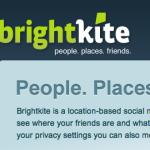 Brightkite Beta [WebApp]