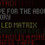LED Matrix WordPress Theme [WebApp]
