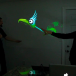 Interactive Puppet Prototype w Kinect [openFrameworks]