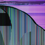 Playing with a flat screen from the trash [Objects]