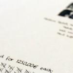 Handwritten Invoice [Python, Nodebox]