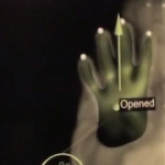 Hand tracking gesture experiment with iisu middleware and oF