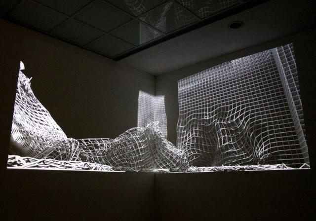 NODE10 exhibition - Achilles by Brandon Morse (copyright Marius Watz)