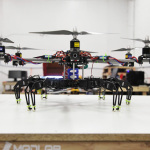 Flying Hexapod Quadcopter