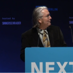 Bruce Sterling at NEXT Berlin