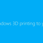 Windows 8.1 to Include 3D Print Button